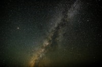 Milky Way Galaxy seen from Earth during cloudless night