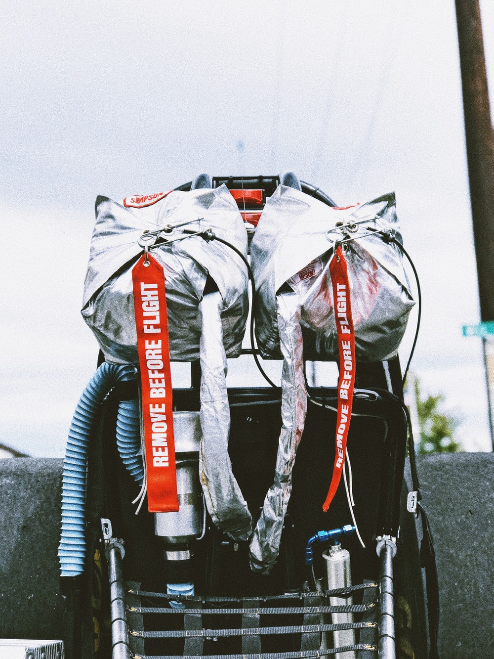close-up photo of bag