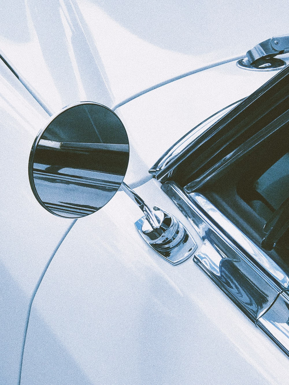view of vehicle side mirror