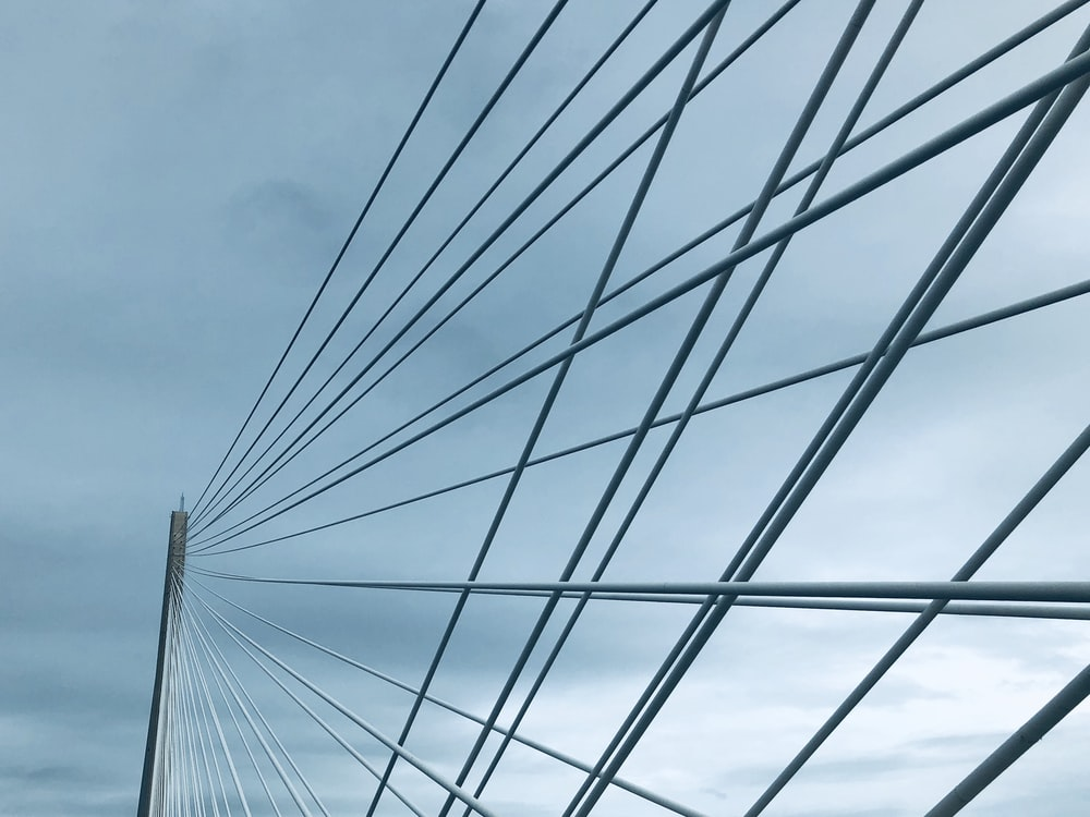low angle photography of bridge during daytime