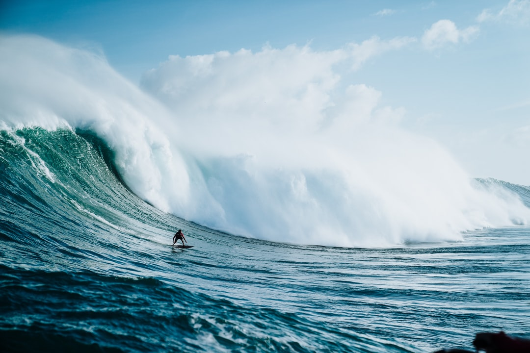 Kai Lenny Surfs at Jaws 2018