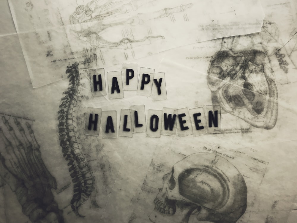 happy halloween wall decor