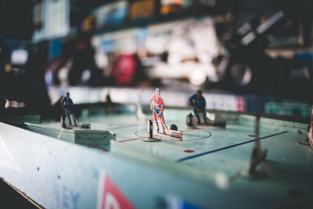 hockey miniature figure toys