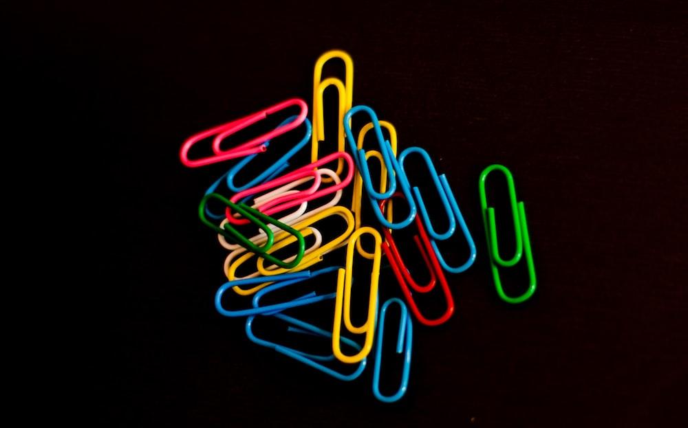 paper clip lot