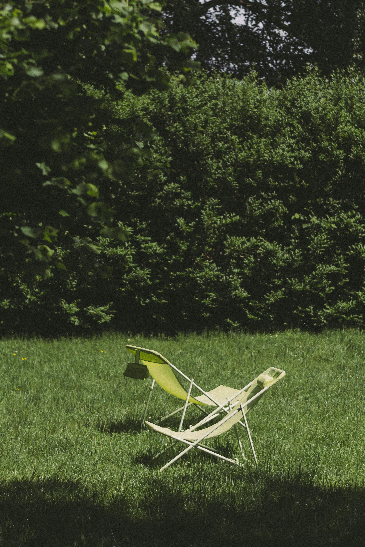 chair on grass field