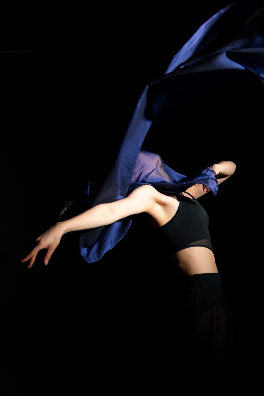 standing woman dancing