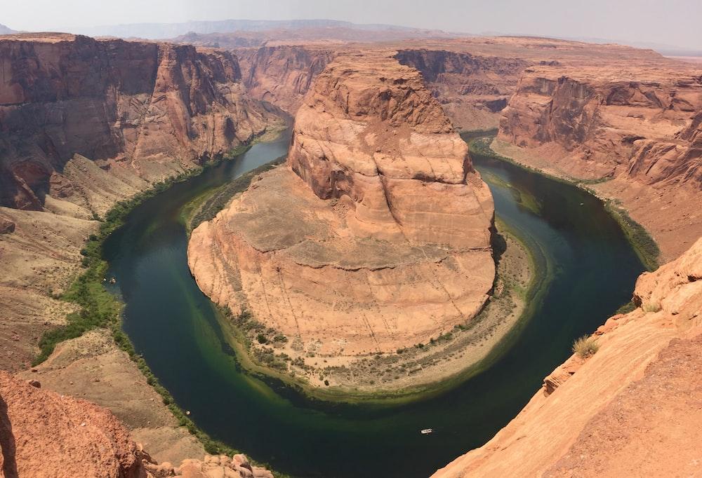 view of Horseshoe Bend, Arizona during daytime