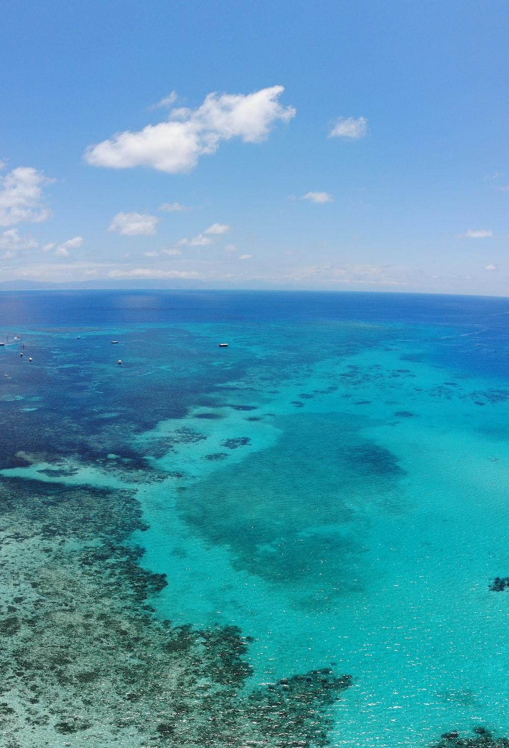 blue ocean photograph