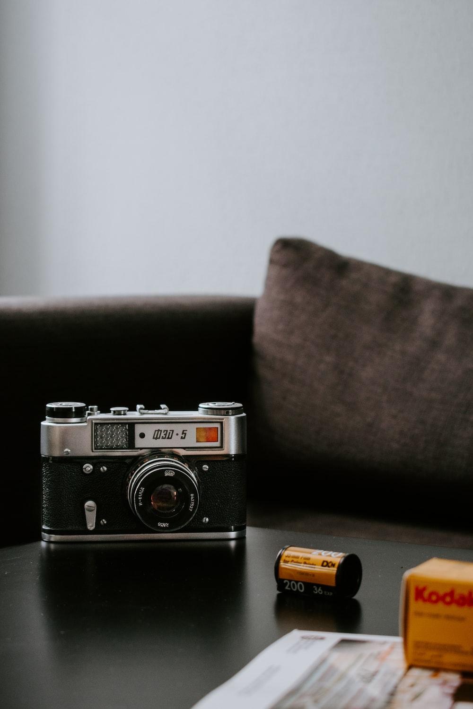 black and grey bridge camera