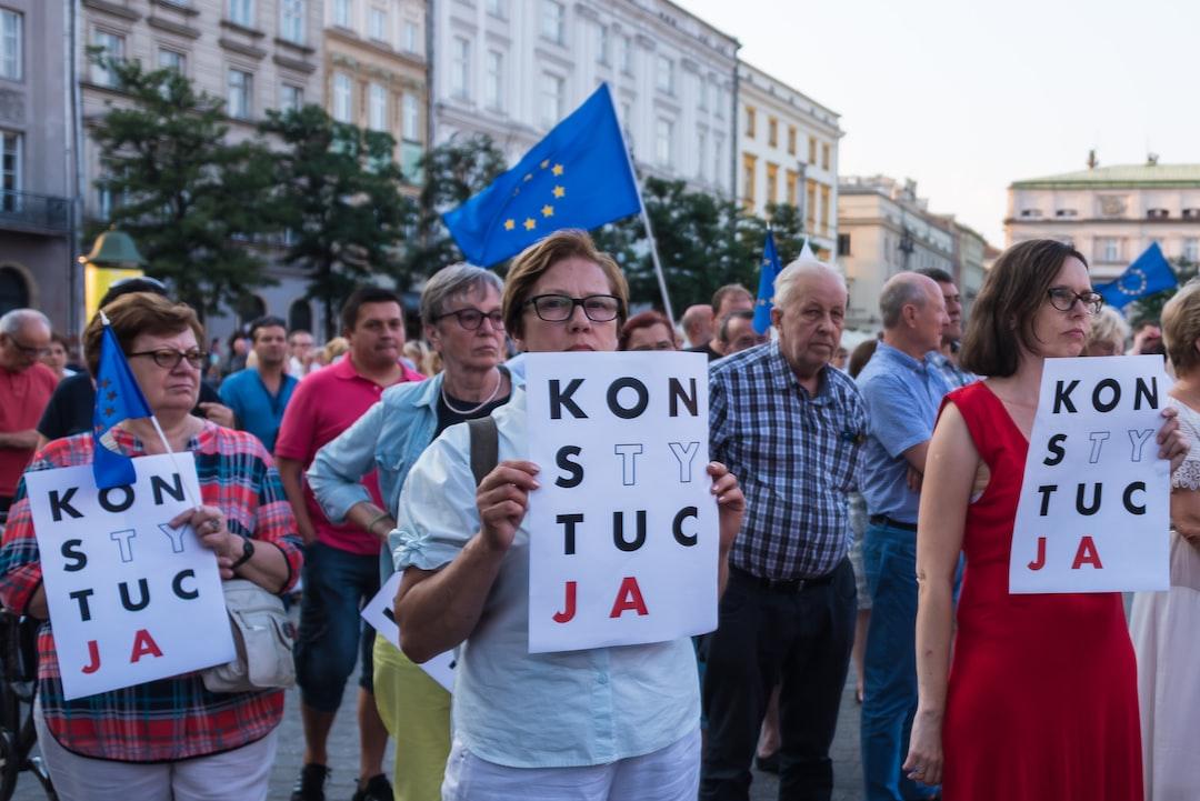 Protests against Poland's judicial reform