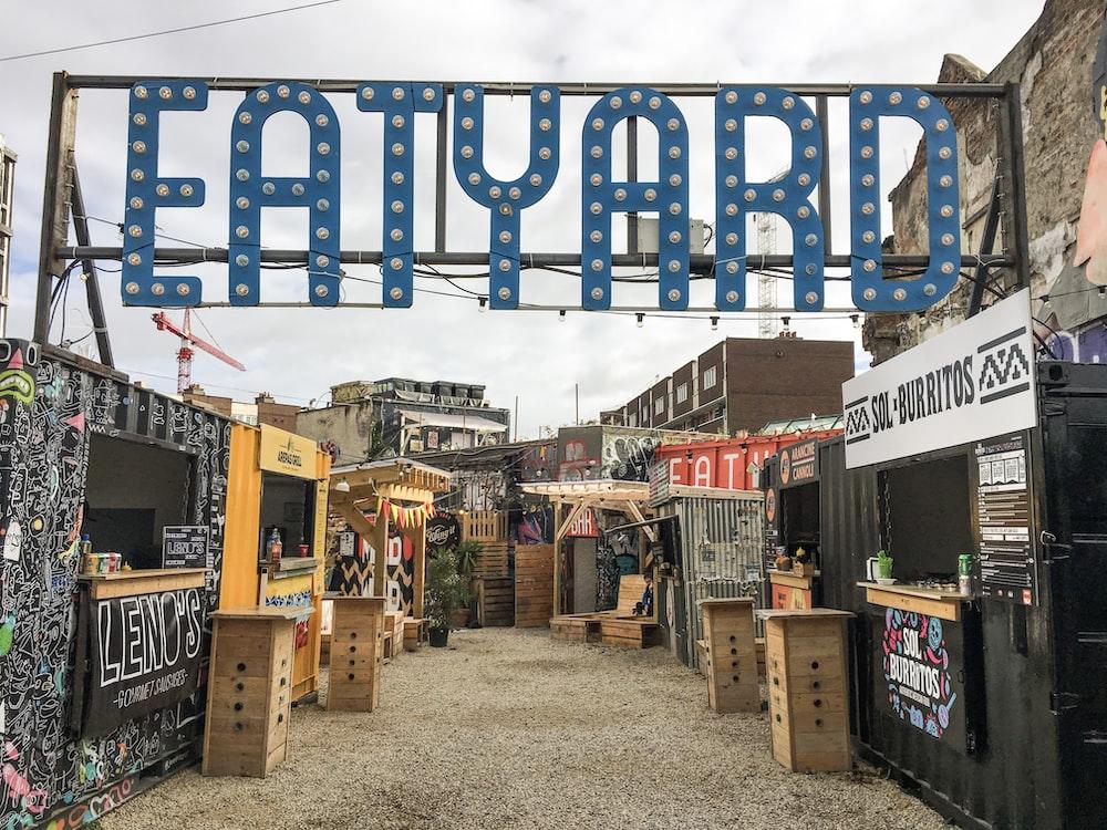 Eatyard signage