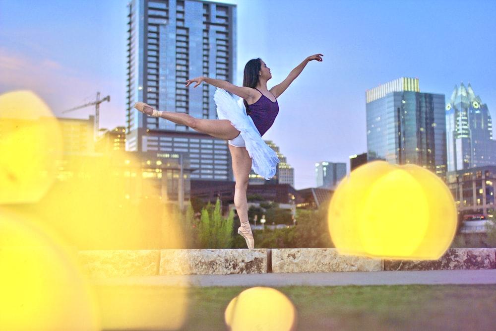 woman dancing photograph