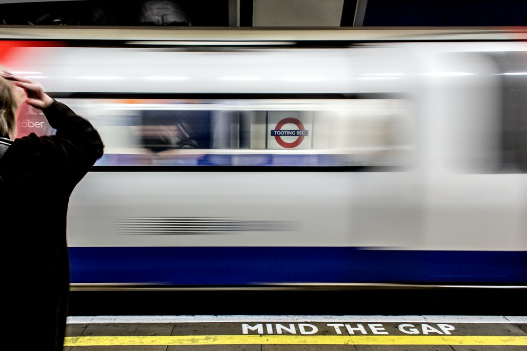 A snapshot of the tube of london.