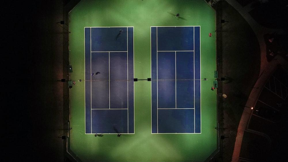tennis court photography