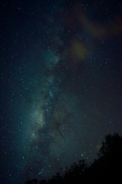 green and black galaxy