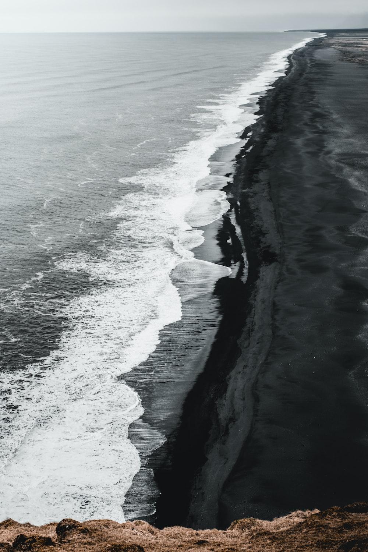 seashore at daytime