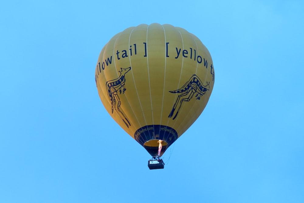 yellow tail air balloon