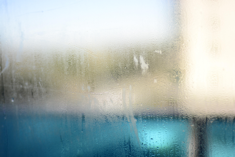 clear glass window