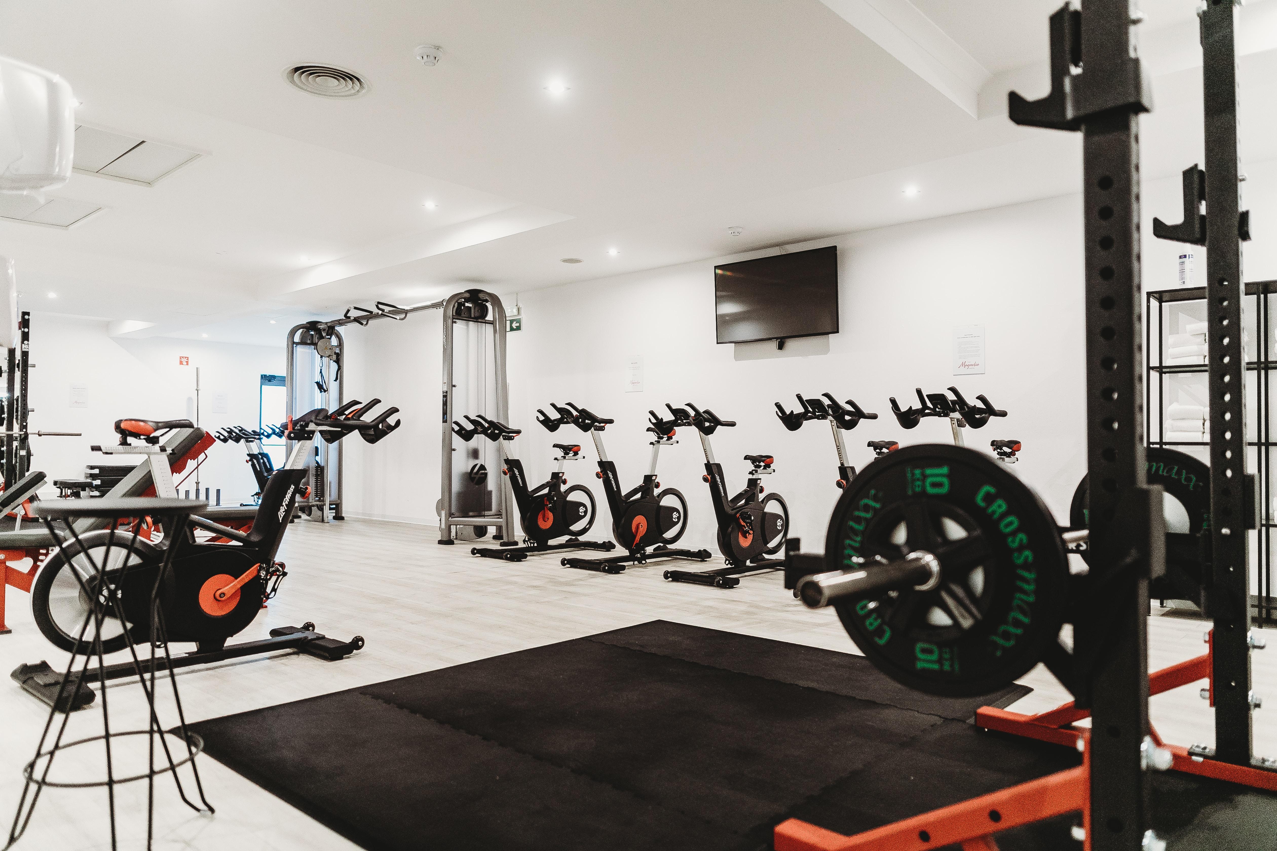 empty fitness gym