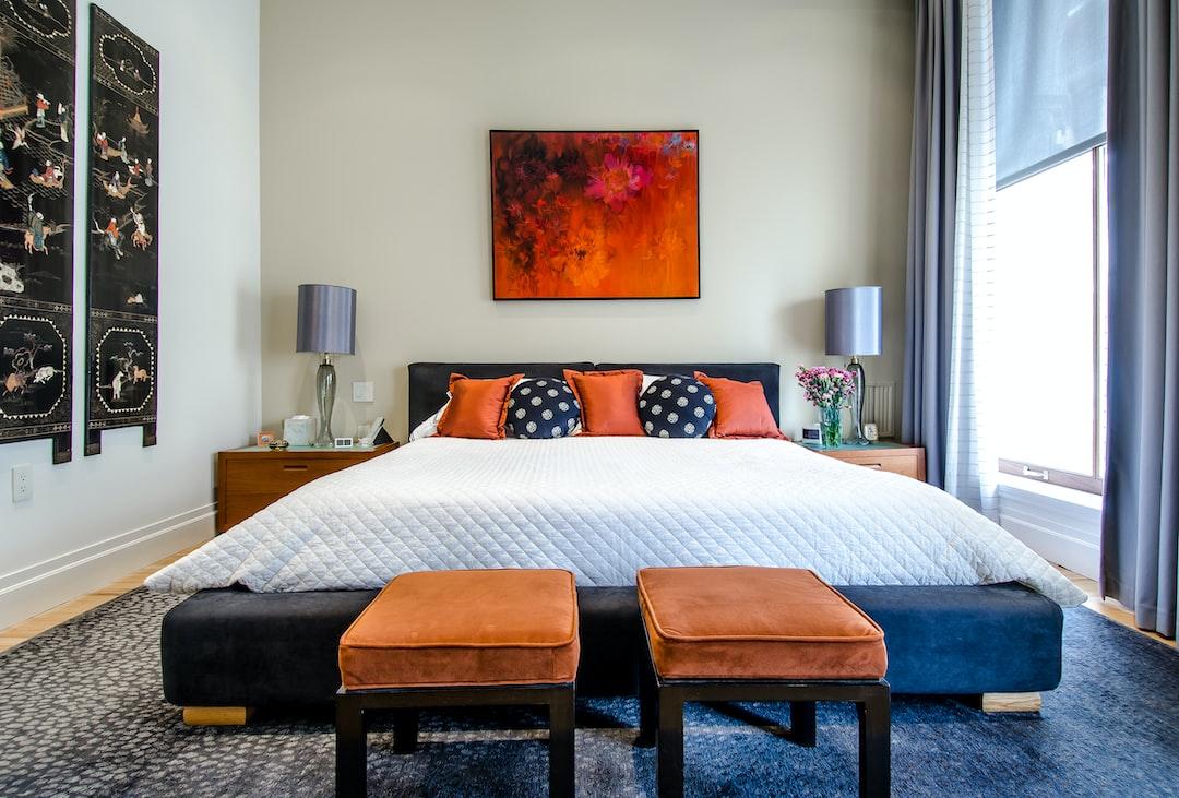 Loft bedroom in Tribeca