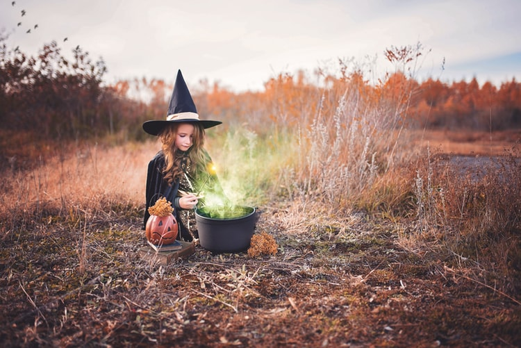Adorable Witch Costume | Easy Homemade Halloween Costumes You Can Make For Your Kids