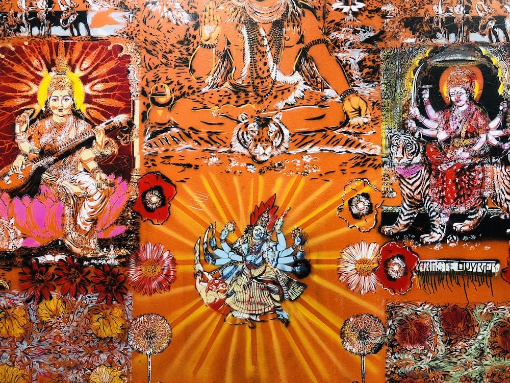 Hindu Deity illustration