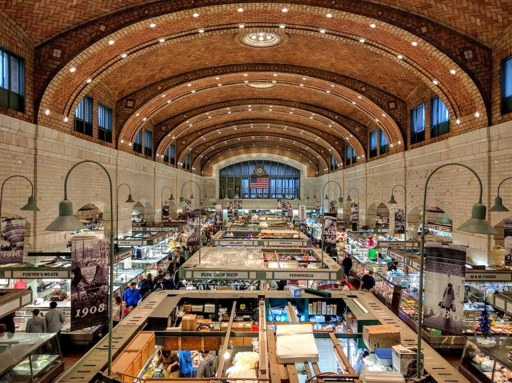 indoor bazaar