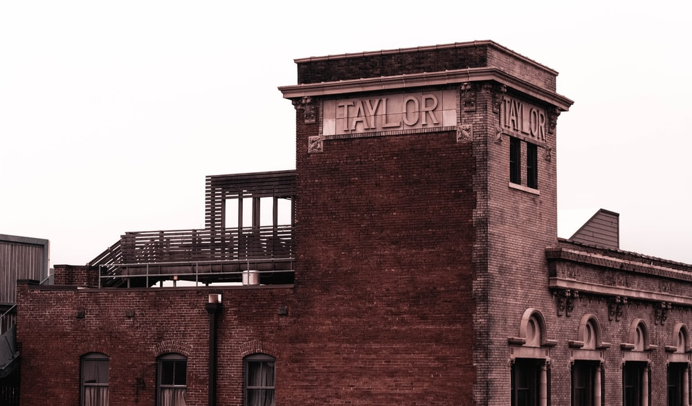 brown concrete Taylor building