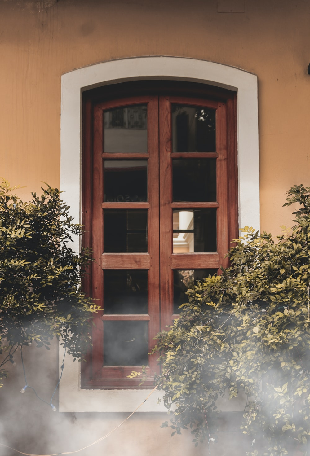 closed window\
