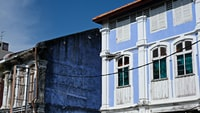 Georgetown Old Building in Penang Malaysia
