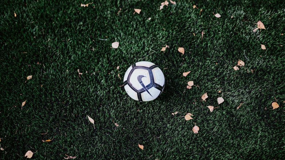 white and black Nike soccer ball