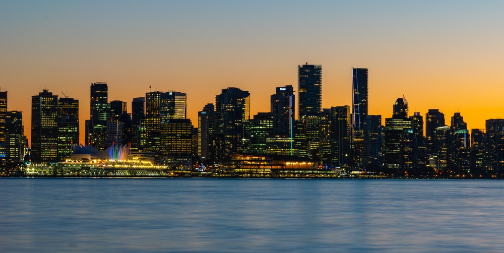 landscape photography of city near ocean