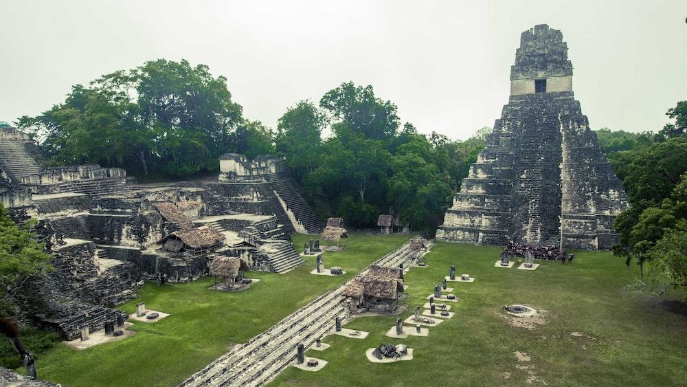 Tikal temple, Guatemela