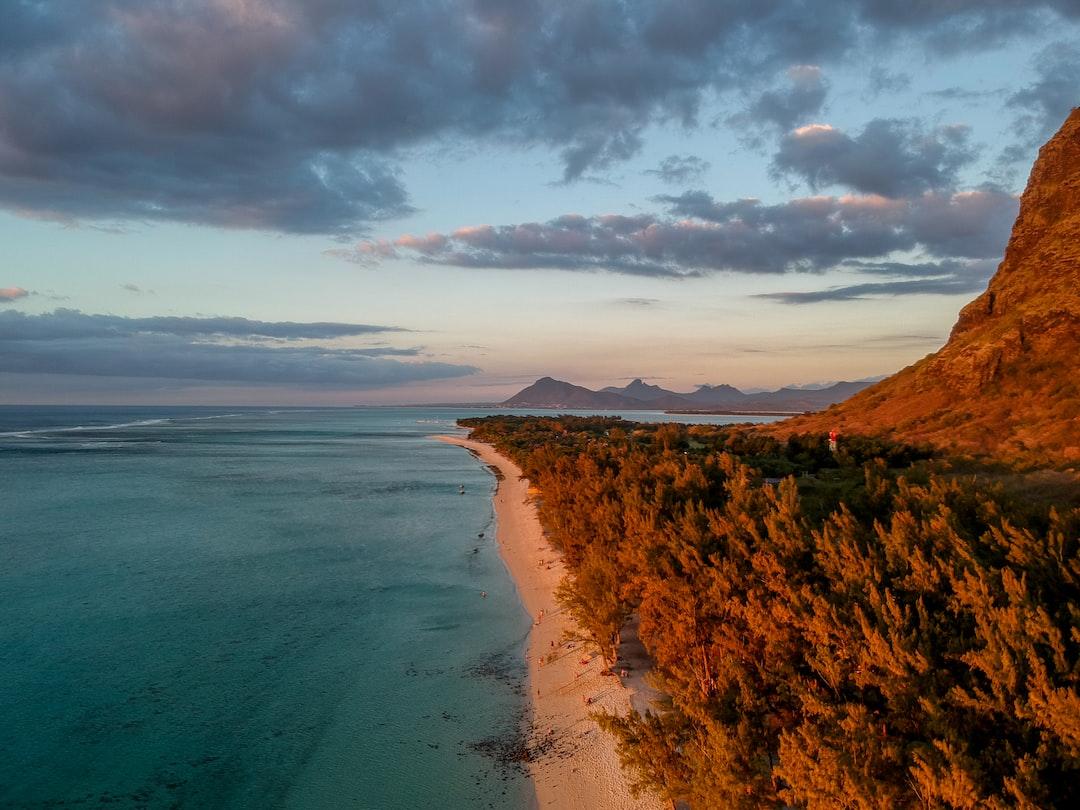Golden Hour in Le Morne - Mauritius