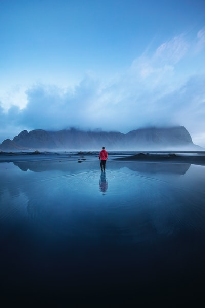 I'm super excited to start sharing some of the special moments we witnessed during my second visit to Iceland. From the powerful waterfalls, majestic mountains and incredible aurora displays, it was a truly unforgettable adventure. I captured this photo during a beautifully still morning in the shadow of the Vestrahorn, a famous mountain in the south-east of Iceland. After a storm almost blew us away we persevered and waited out for 24 hours to enjoy this calm that followed.