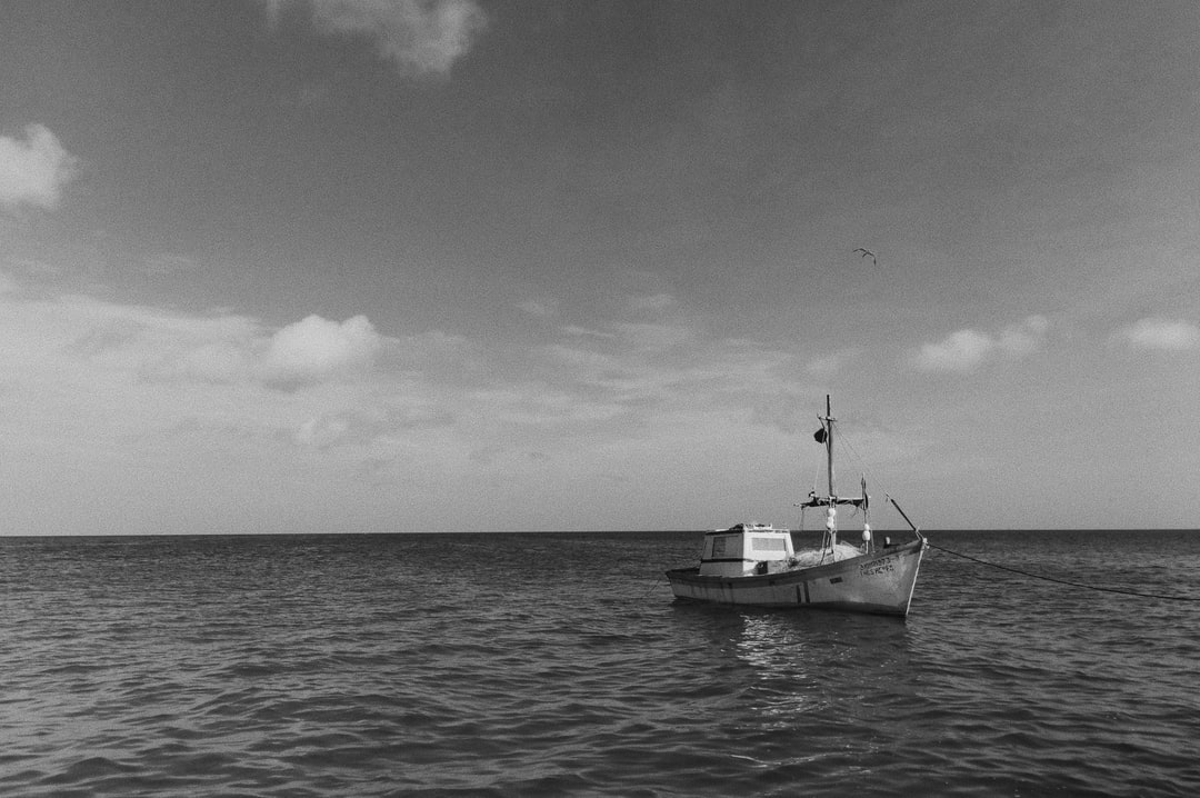 The day I proposed my girlfriend I was feeling very anxious so I went to the shore to take a break. Then I saw this boat, in the middle of the sea. It was alone, but somehow, strong. That image gave me rest and helped me to relax.