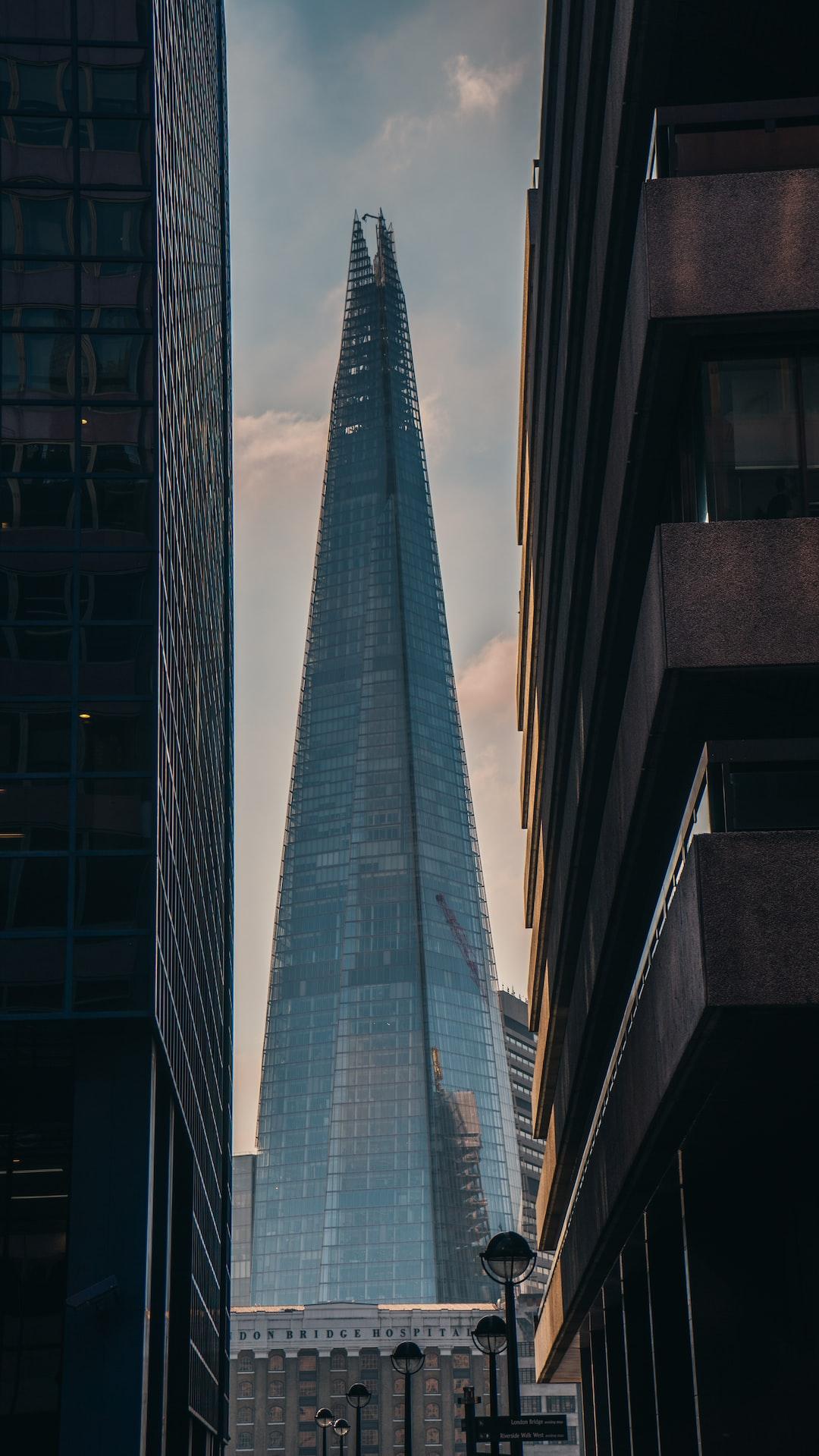 the shard between buildings