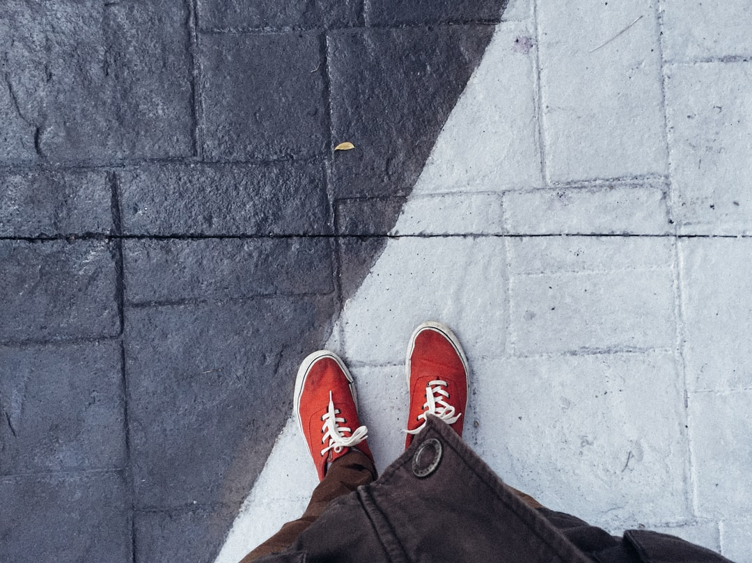 Winter, red shoes and a point of view ~ from many others just like that.