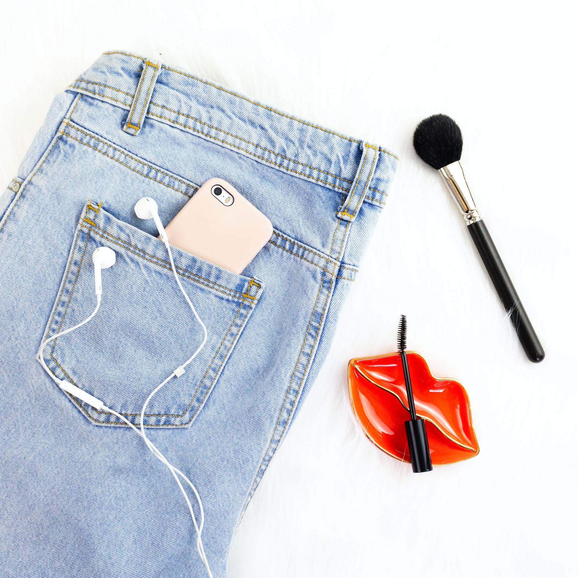 Fashion Blogger Flat Lay