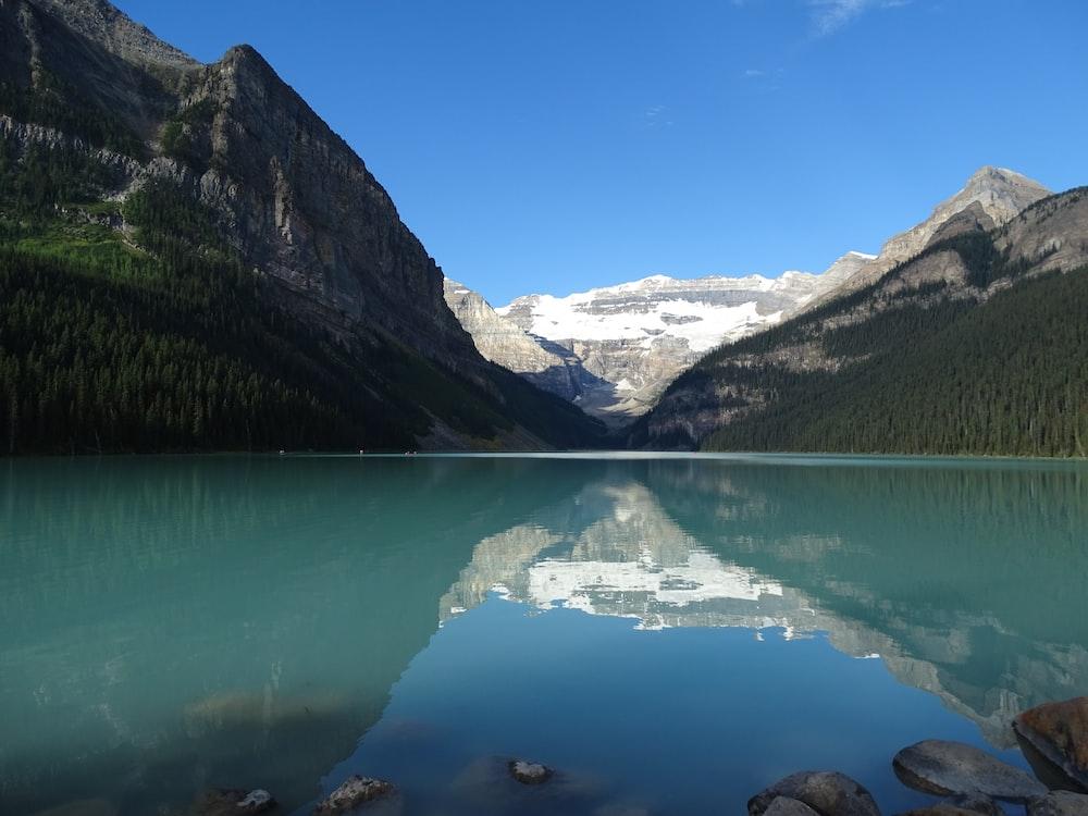 Lake Louise Hamlet in Canada