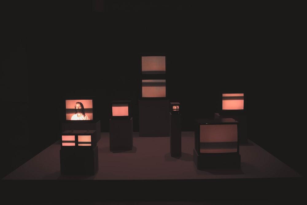 black table lamp lot