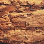 brown rock wall