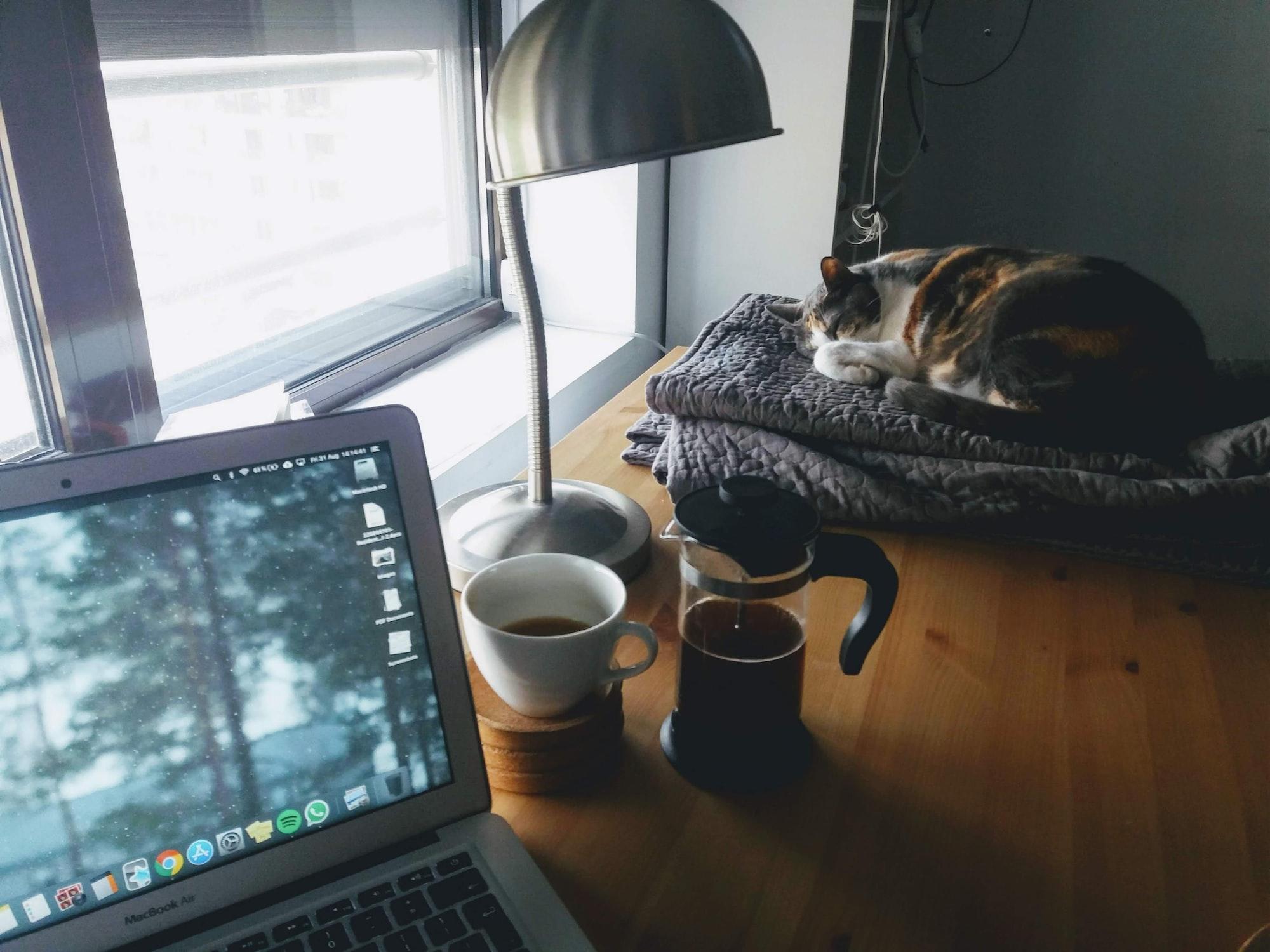 在家工作,如何利用早晨儀式開啟工作模式