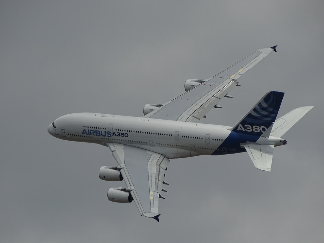 The A380 at le Bourget airshow