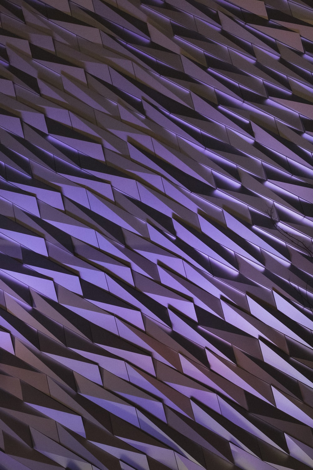purple blocks wallpaper