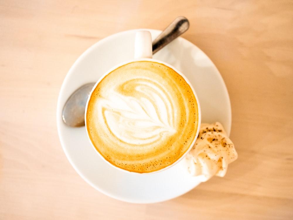 espresso filled teacup
