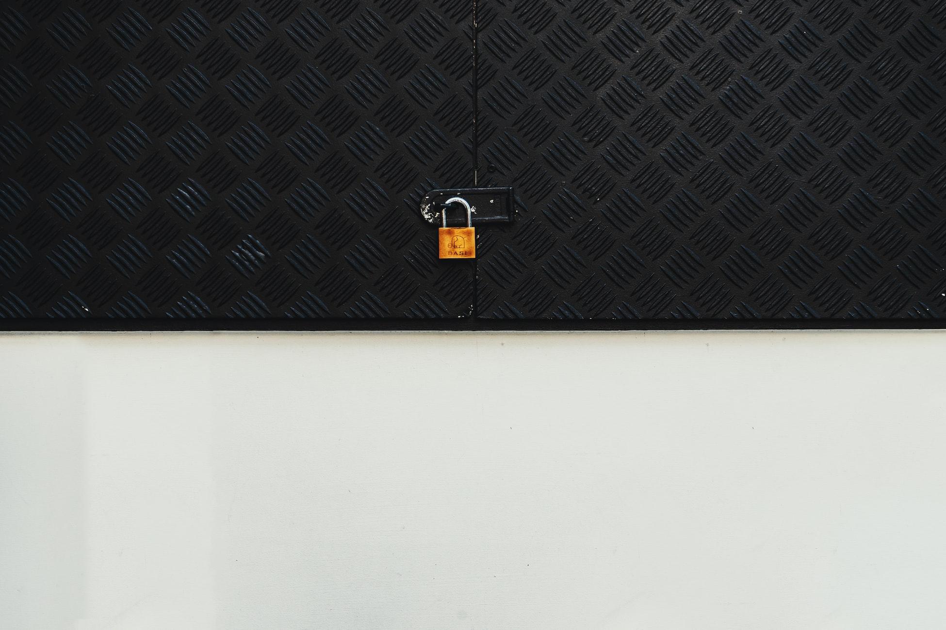 Padlock on Wall