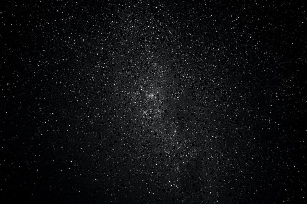 photo stars during night