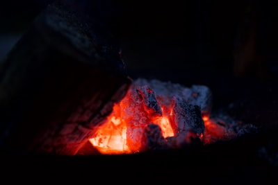 Sat outside on a cold winter's night, we lit a firepit. The warm glow and dramatic lighting motivated me to take a few shots like these, even if it meant lying on the stone floor.