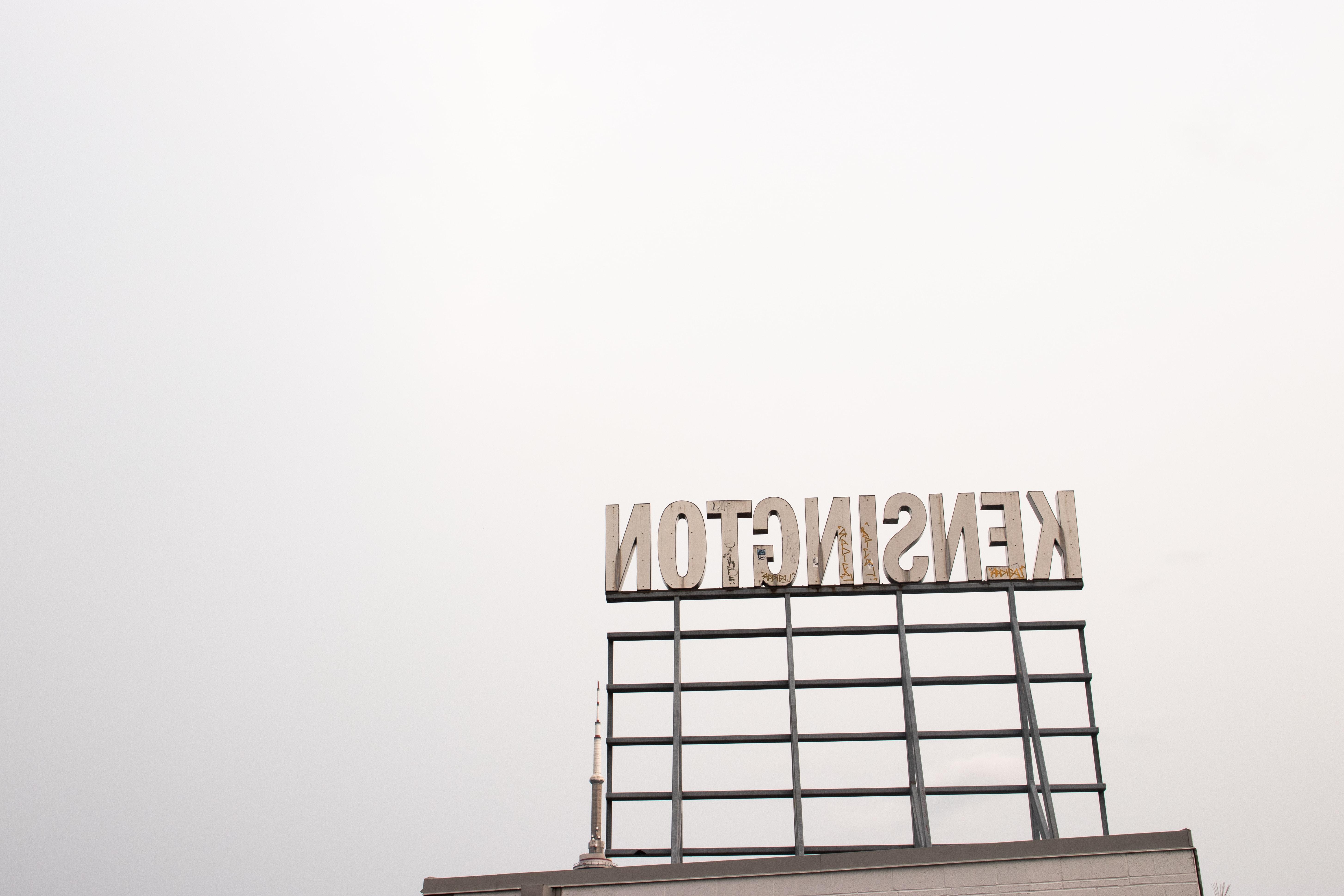 Kensington signage